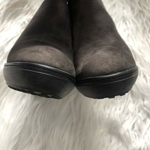 Tod's Shoes - Tods Gray Suede Ankle Boots